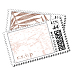 Isla Luxury Wedding Postage Stamps - Ceci Wedding - Ceci New York