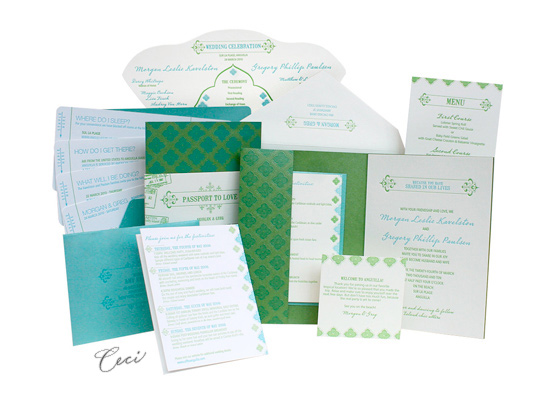 Jet Set - Luxury Wedding Invitations - Ceci Ready-to-Order Collection - Ceci Wedding - Ceci New York