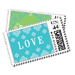 Jet Set Luxury Wedding Postage Stamps - Ceci Wedding - Ceci New York