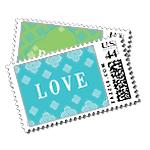 Jet Set Luxury Wedding Postage Stamps - Ceci Wedding - Ceci New York