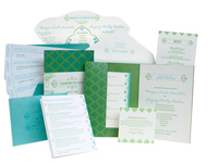 Jet Set Luxury Wedding Invitations - Ceci Ready-to-Order Collection - Ceci Wedding - Ceci New York