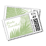 Palma Luxury Wedding Postage Stamps - Ceci Wedding - Ceci New York