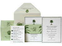 Palm Court Luxury Wedding Invitations - Ceci Ready-to-Order Collection - Ceci Wedding - Ceci New York