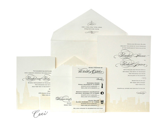 42nd and Lex - Luxury Wedding Invitations - Ceci Ready-to-Order Collection - Ceci Wedding - Ceci New York
