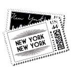 Broadway Luxury Wedding Postage Stamps - Ceci Wedding - Ceci New York