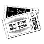 Broadway Luxury Wedding Postage Stamps - Ceci Wedding - Ceci New York