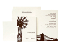 Brooklyn Bridge - New York - Ceci Ready-to-Order Collection - Ceci Wedding - Ceci New York