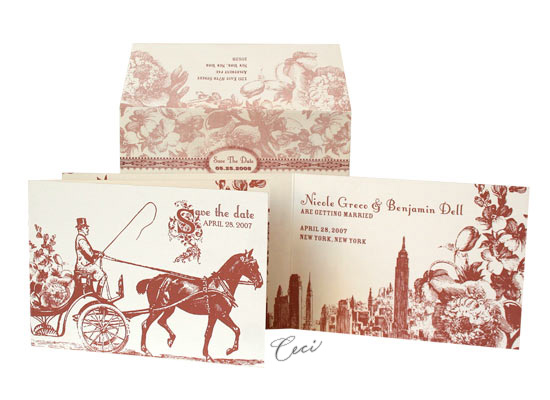 Central Park - Luxury Wedding Invitations - Ceci Ready-to-Order Collection - Ceci Wedding - Ceci New York