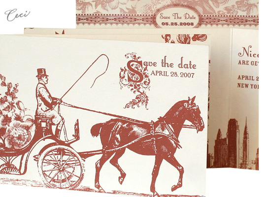 Central Park - Details - Luxury Wedding Invitations - Ceci Ready-to-Order Collection - Ceci Wedding - Ceci New York