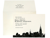 Evening Skyline - New York - Ceci Ready-to-Order Collection - Ceci Wedding - Ceci New York