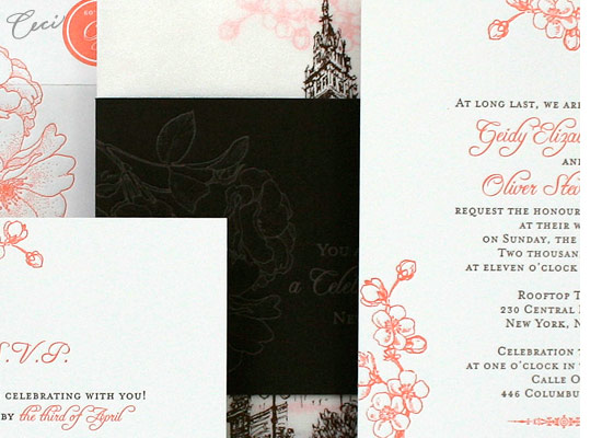 Rooftop Garden - Details - Luxury Wedding Invitations - Ceci Ready-to-Order Collection - Ceci Wedding - Ceci New York