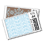 The Plaza Luxury Wedding Postage Stamps - Ceci Wedding - Ceci New York
