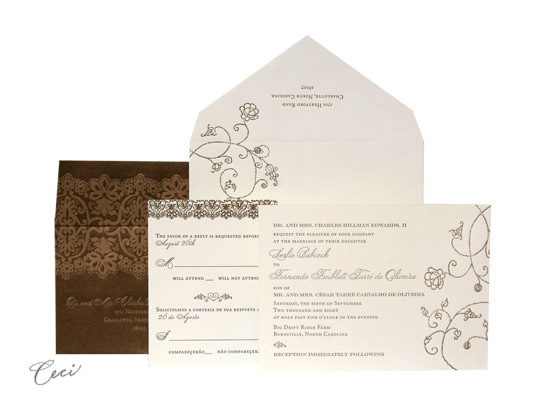 Clarity - Luxury Wedding Invitations - Ceci Ready-to-Order Collection - Ceci Wedding - Ceci New York