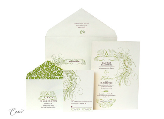 Eve - Luxury Wedding Invitations - Ceci Ready-to-Order Collection - Ceci Wedding - Ceci New York