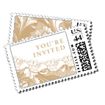 Grand Palais Luxury Wedding Postage Stamps - Ceci Wedding - Ceci New York