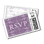 Mademoiselle Luxury Wedding Postage Stamps - Ceci Wedding - Ceci New York