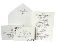 Mademoiselle Luxury Wedding Invitations - Ceci Ready-to-Order Collection - Ceci Wedding - Ceci New York