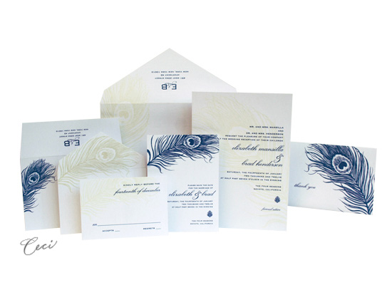 Mali - Luxury Wedding Invitations - Ceci Ready-to-Order Collection - Ceci Wedding - Ceci New York