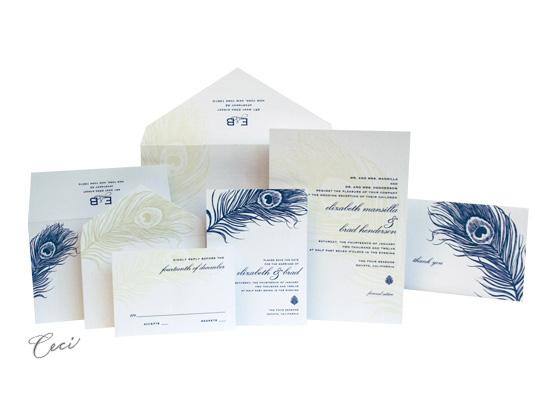 Mali - Luxury Wedding Invitations - Ceci Ready-to-Order Collection - Ceci Wedding - Ceci New York