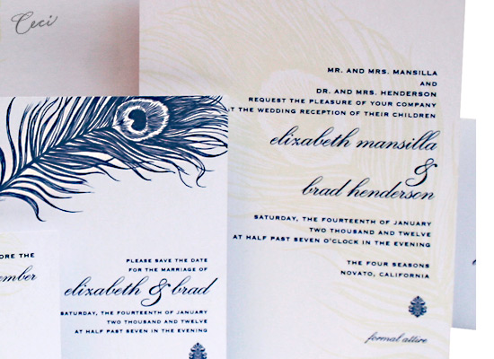 Mali - Details - Luxury Wedding Invitations - Ceci Ready-to-Order Collection - Ceci Wedding - Ceci New York