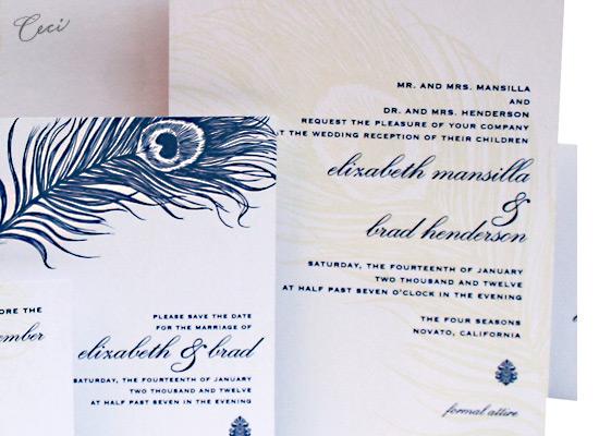 Mali - Details - Luxury Wedding Invitations - Ceci Ready-to-Order Collection - Ceci Wedding - Ceci New York