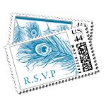 Mali Luxury Wedding Postage Stamps - Ceci Wedding - Ceci New York