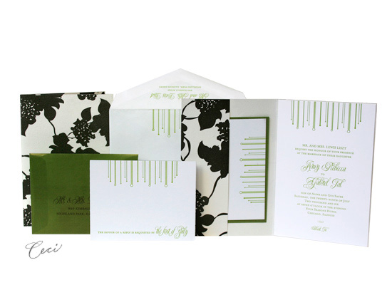 Marque - Luxury Wedding Invitations - Ceci Ready-to-Order Collection - Ceci Wedding - Ceci New York