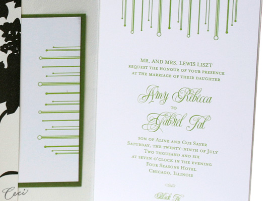 Marque - Details - Luxury Wedding Invitations - Ceci Ready-to-Order Collection - Ceci Wedding - Ceci New York