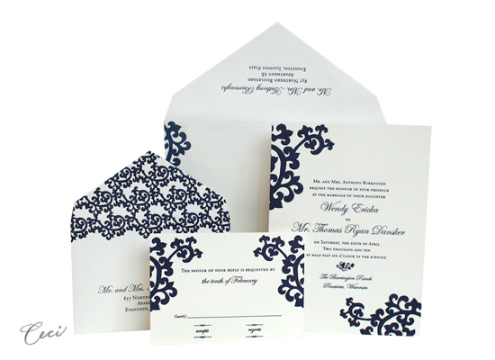 Orientalia - Luxury Wedding Invitations - Ceci Ready-to-Order Collection - Ceci Wedding - Ceci New York