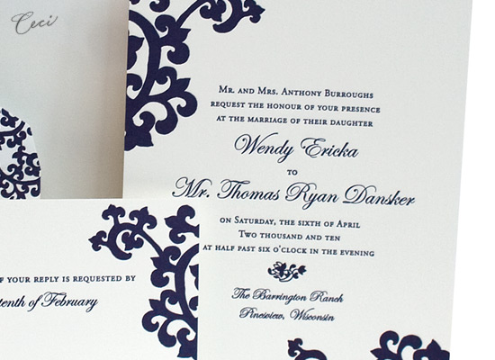 Orientalia - Details - Luxury Wedding Invitations - Ceci Ready-to-Order Collection - Ceci Wedding - Ceci New York