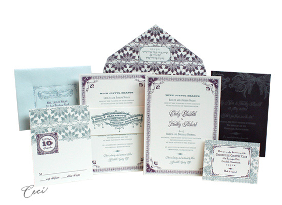 Ornamental - Luxury Wedding Invitations - Ceci Ready-to-Order Collection - Ceci Wedding - Ceci New York