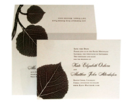 Aspen Luxury Wedding Save the Dates - Ceci Ready-to-Order Collection - Ceci Wedding - Ceci New York