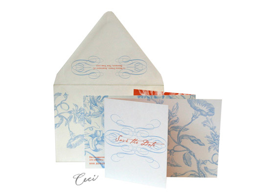 Carlyle - Luxury Wedding Save the Dates - Ceci Ready-to-Order Collection - Ceci Wedding - Ceci New York