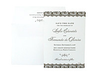 Clarity - Save the Dates - Ceci Ready-to-Order Collection - Ceci Wedding - Ceci New York