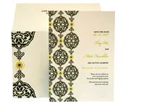 Dahlia - Save the Dates - Ceci Ready-to-Order Collection - Ceci Wedding - Ceci New York