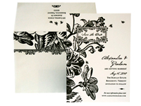 English Garden - Save the Dates - Ceci Ready-to-Order Collection - Ceci Wedding - Ceci New York