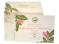 Ginger - Save the Dates - Ceci Ready-to-Order Collection - Ceci Wedding - Ceci New York
