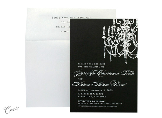 Illume - Luxury Wedding Save the Dates - Ceci Ready-to-Order Collection - Ceci Wedding - Ceci New York