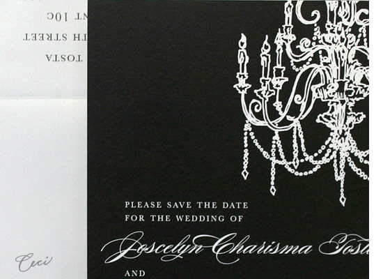 Illume - Details - Luxury Wedding Save the Dates - Ceci Ready-to-Order Collection - Ceci Wedding - Ceci New York