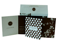 Mimosa Luxury Wedding Save the Dates - Ceci Ready-to-Order Collection - Ceci Wedding - Ceci New York