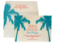 Pacifica - Save the Dates - Ceci Ready-to-Order Collection - Ceci Wedding - Ceci New York