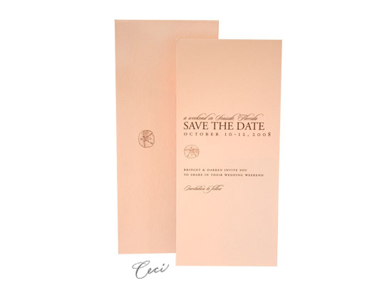 Palma - Luxury Wedding Save the Dates - Ceci Ready-to-Order Collection - Ceci Wedding - Ceci New York