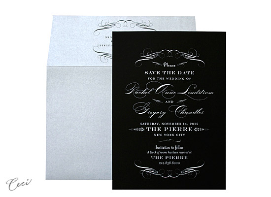 Radiance - Luxury Wedding Save the Dates - Ceci Ready-to-Order Collection - Ceci Wedding - Ceci New York