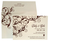 Symphony Luxury Wedding Save the Dates - Ceci Ready-to-Order Collection - Ceci Wedding - Ceci New York