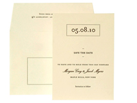 Tastemaker Luxury Wedding Save the Dates - Ceci Ready-to-Order Collection - Ceci Wedding - Ceci New York