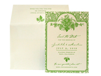 Vineyard - Save the Dates - Ceci Ready-to-Order Collection - Ceci Wedding - Ceci New York