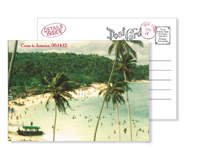 Beach 4 - Vintage Postcards - Ceci Ready-to-Order Collection - Ceci Wedding - Ceci New York