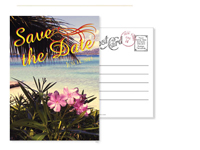 Beach 6 - Vintage Postcards - Ceci Ready-to-Order Collection - Ceci Wedding - Ceci New York