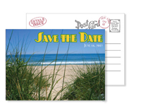 Beach 12 - Vintage Postcards - Ceci Ready-to-Order Collection - Ceci Wedding - Ceci New York