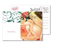 Garden 1 - Vintage Postcards - Ceci Ready-to-Order Collection - Ceci Wedding - Ceci New York